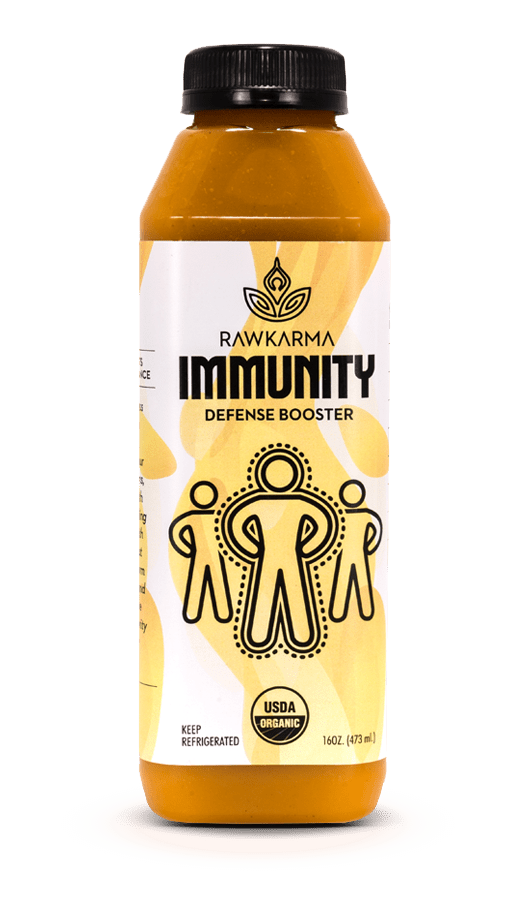 IMMUNITY Defense Booster 100% Organic Juice
